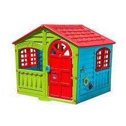 Domek dla dzieci Marian Plast wielokolorowy Czerwony/Niebieski/Zielony
