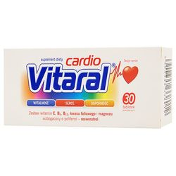 Vitaral cardio x 30 tabl powlekanych