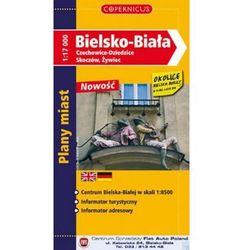 Bielsko-Biała, Czechowice-Dziedzice, Skoczów, Żywiec. Plan miasta 1:17 000 + zakładka do książki GRATIS (opr. broszurowa)