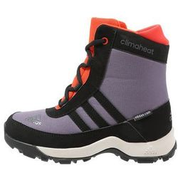 adidas Performance CLIMAHEAT ADISNOW CLIMAPROOF Śniegowce ash purple/core black/bold orange