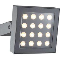 Zewnętrzna LAMPA ścienna TASILLA 34261 Globo ruchoma OPRAWA elewacyjna LED IP65 outdoor ciemnoszary