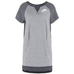 Nike Sportswear GYM VINTAGE Sukienka z dżerseju black/sail