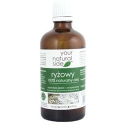 Your Natural Side Olej ryżowy 100% naturalny 100ml