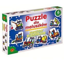 MASZYNY BUDOWLANE Puzzle dla maluszków