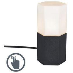 Lampa stołowa Hexagon czarna
