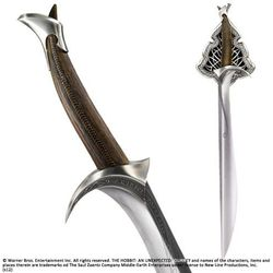 Miecz z filmu Hobbit - Sword of Thorin Oakenshield Orcrist Noble Collection (NOB1222)