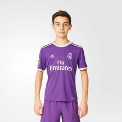 Koszulka wyjazdowa dla dziecka Real Madryt 2016/17 (Adidas)