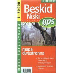 Beskid Niski. Mapa turystyczna. Dwustronna. 1:50000 Demart