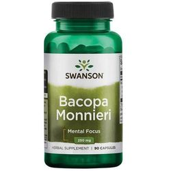 Swanson Bacopa Monniera BaCognize Extract 250mg - (90 kap)