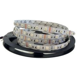 TAŚMA LED 14,4W/1m 5050 smd 60LED/1m IP20 RGB MULTIKOLOR 1m