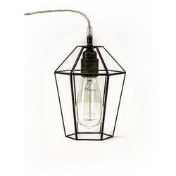 Lampa wisząca Brylant. Polski projekt lampy z przezroczystego szkła