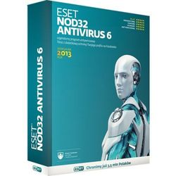 Program ESET ESET NOD 32 Antivirus 6 2013 (1 st. 24 mies.) UPG