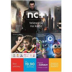 NC+ Telewizja na kartę (130 Kanałów, 1 m-c na start z Canal+) z Dekoderem HD 5800SXREC z dyskiem + DARMOWA DOSTAWA + Odbiór w 650 punktach Stacji z paczką!