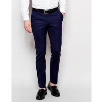 Noose & Monkey Trousers With Stretch In Super Skinny Fit - Blue