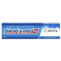 Blend-a-med 3D, White Delicate White, pasta do zębów, 100ml