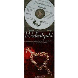 Walentynki. Wpisy do pamiętników i na kartki walentynkowe, wiersze, życzenia, dedykacje +CD (opr. broszurowa)