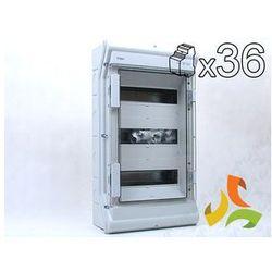 Rozdzielnica, rozdzielnia elektryczna 36-mod. VECTOR II IP65 hermetyczna VE312L HAGER