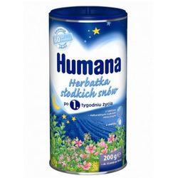 Herbatka słodkich snów Humana po 1. tyg