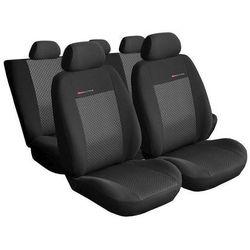 Pokrowce samochodowe miarowe ELEGANCE POPIEL 3 Ford Transit Custom 2+1 od 2012 r.