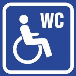 Oznaczenie toalet - WC dla niepełnosprawnych