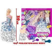 Lean Toys, Projektowanie mody, lalka fashion z długimi włosami Darmowa dostawa do sklepów SMYK