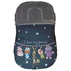 Tris&Ton, Universalny śpiworek do wózka, Friends Darmowa dostawa do sklepów SMYK