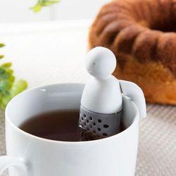 Zaparzacz do herbaty silikonowy SILLINIE LUDZIK - rabat 10 zł na pierwsze zakupy!