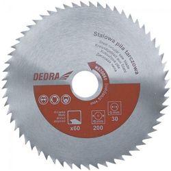 Tarcza do cięcia DEDRA HS40060 400 x 30 mm do drewna stalowa