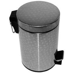 Kosz na śmieci metalowy 5l grawerowany SNP