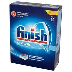 FINISH 72szt Powerball Classic Tabletki do mycia naczyń w zmywarkach