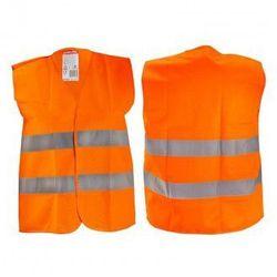 LAHTI PRO Kamizelka ostrzegawcza pomarańczowa dla dzieci 10-12 lat L L4130203 (ZNALAZŁEŚ TANIEJ - NEGOCJUJ CENĘ !!!)