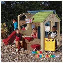 Domek ze zjeżdżalnią dla dzieci (nowy kolor) STEP 2