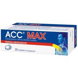 ACC, tabletki musujące, 200 mg, 20 sztuk