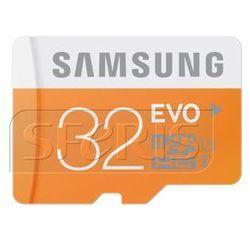 Karta pamięci Samsung Micro SD z adapterem EVO Up to 48MB/S 32GB - MB-MP32DA/EU