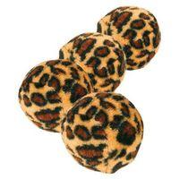 TRIXIE piłeczki LEOPARD dla kota 3,5cm 4szt.