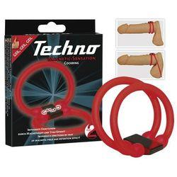 Podwójny pierścień na penisa Techno 518875