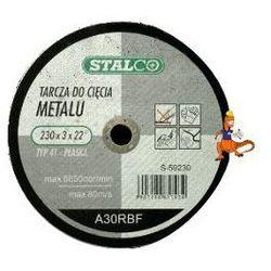TARCZA DO CIĘCIA METALU PŁASKA 125x1, 0x22MM FIRMA STALCO (S-59025)