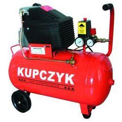 Kompresor tłokowy, olejowy, 'Kupczyk' [ZFL24] 1500W, 50L, 245L/min, 8 bar