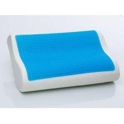 Zelowa poduszka Memory Foam 50x30 cm - piankowa - ortopedyczna - MOCO