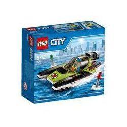 Lego City Łódź wyścigowa
