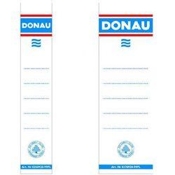 Etykiety do segregatorów wsuwane DONAU 28x153mm 20szt.