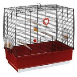 Ferplast Rekord 4 klatka dla kanarka, papużki z wyposażeniem
