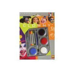 Clowny - Farby wodne + kredki do malowania twarzy