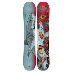 Snowboardy WWW + Hurrithane Shark L (TEST SNB) Niebieski/Wielobarwny 152