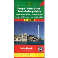 Europa - Bliski Wschód - Azja Środkowa mapa 1:5 500 000 Freytag & Berndt (opr. twarda)