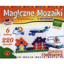 Magiczne mozaiki z obrazkami Samoloty i helikoptery