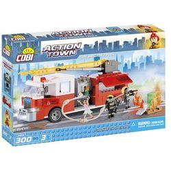 Cobi, Action Town, Wóz strażacki, klocki, 300 elementów Darmowa dostawa do sklepów SMYK