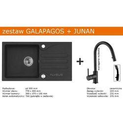 Zestaw ALVEUS GALAPAGOS + JUNAN (kolor CZARNY)