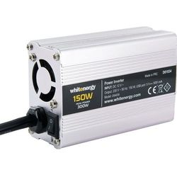 Przetwornica napięcia WHITENERGY 12V DC/230V AC 150W USB-5V 09409