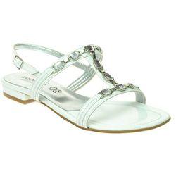 Sandały Zodiaco 1103 bianco - Biały
